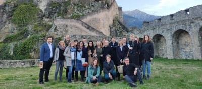 La Diputación de Zaragoza lidera el primer encuentro interregional del proyecto europeo MOMAr, celebrado en Córcega