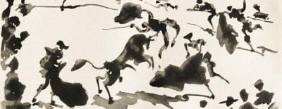 La Diputación de Zaragoza lleva a Fuendetodos una selección de grabados de Pablo Picasso y de sus sobrinos Javier y Xavier Vilató