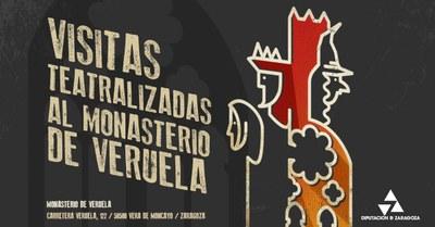 La Diputación de Zaragoza ofrece visitas teatralizadas al monasterio de Veruela todos los viernes y domingos de julio y agosto