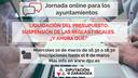 La Diputación de Zaragoza organiza una jornada online para formar y asesorar a los ayuntamientos en el uso de sus remanentes