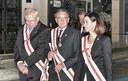 La Diputación de Zaragoza participa en el Rosario de Cristal de la capital aragonesa