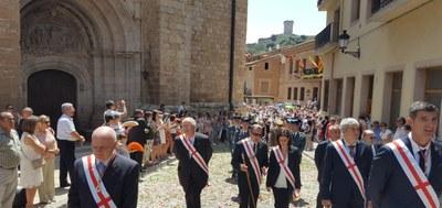 La Diputación de Zaragoza participa un año más en la celebración de los Corporales de Daroca
