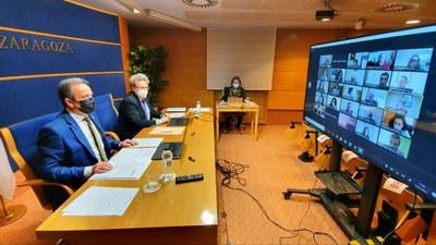 La Diputación de Zaragoza pide al Gobierno central que las entidades locales también puedan utilizar sus remanentes en 2022
