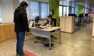 La Diputación de Zaragoza reabre  sus oficinas de atención tributaria para ciudadanos con cita previa
