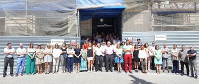 La Diputación de Zaragoza recuerda a Miguel Ángel Blanco en el 20 aniversario de su asesinato