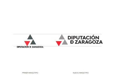 La Diputación de Zaragoza renueva su imagen de marca actualizando su logotipo para adaptarlo a las necesidades actuales