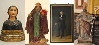 La Diputación de Zaragoza restaura cuatro obras de arte de la colección provincial fechadas en los siglos XVI, XVIII y XIX