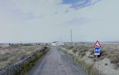 La Diputación de Zaragoza saca a concurso el arreglo de la carretera provincial que conecta Monegrillo y Osera, la CV-8