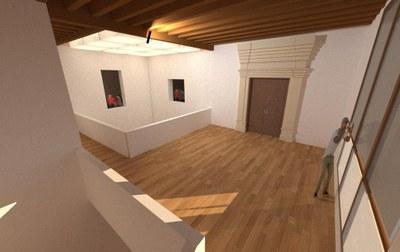 La Diputación de Zaragoza saca a concurso las obras para restaurar la casa  de las Conchas de Borja