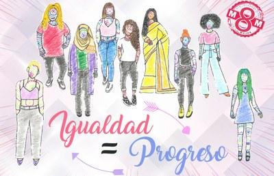La Diputación de Zaragoza se adhiere a la declaración institucional de la FEMP  con motivo del Día Internacional de la Mujer