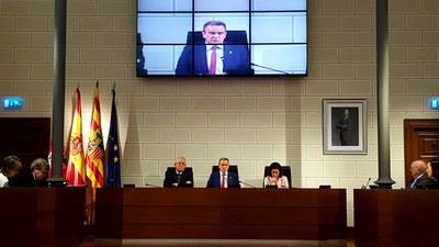 La Diputación de Zaragoza tendrá en 2019 diez millones de euros más que este año para acometer sus principales proyectos