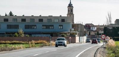 La Diputación de Zaragoza termina el arreglo de la carretera de Pastriz tras una inversión de más de 1,5 millones de euros