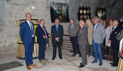 La DO Calatayud inaugura la remodelación de su Museo del Vino, financiada en su mayor parte por la Diputación de Zaragoza