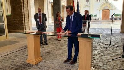 La DPZ aportará 5 millones de euros para  impulsar las medidas de la Estrategia Aragonesa para la Recuperación Social y Económica