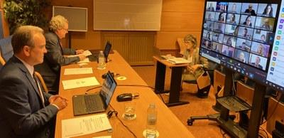 La Diputación de Zaragoza aprueba el proyecto de la cuarta de las seis plantas de transferencia del servicio Ecoprovincia