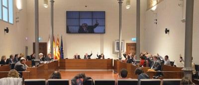 La DPZ aprueba un presupuesto de 148 millones de euros que gira en torno a su nuevo plan unificado de subvenciones