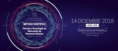 La DPZ celebrará el 14 de diciembre su VI Jornada de Educación de Adultos, que se centrará en el uso de la ciencia y la tecnología