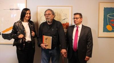 La DPZ conmemora el 273 aniversario de Goya con una exposición en Fuendetodos sobre la obra gráfica de Alberto Corazón