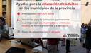 La DPZ convoca sus ayudas para la educación de adultos en los municipios de la provincia, dotadas con 620.000 euros