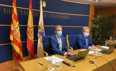La DPZ destina 2,3 millones de euros a un plan para compensar a los 134 municipios que renunciaron a parte del PLUS por el covid