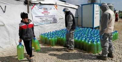 La DPZ destina 20.000 euros en ayuda de urgencia a los campos de refugiados sirios en el Líbano