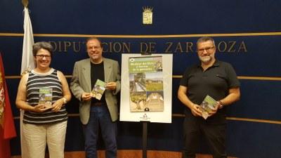La DPZ edita 'Mudéjar del Ebro y tierras de la garnacha', la quinta guía turística para dar a conocer sus rutas por la provincia