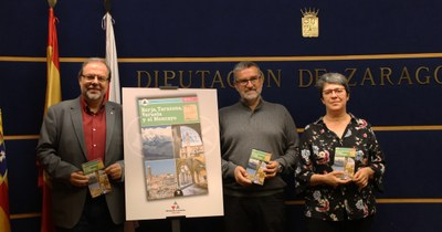 La DPZ edita 'Borja, Tarazona, Veruela y el Moncayo', la última de las once guías turísticas sobre sus rutas por la provincia