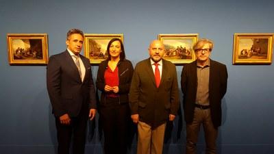 La DPZ expone en el palacio de Sástago la colección Santamarca, una de las mejores colecciones de pintura de España