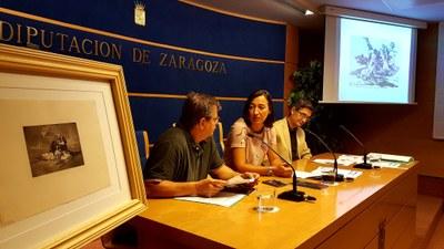 La DPZ expone en Fuendetodos la edición de los 'Desastres de la guerra' encargada por el Gobierno de la República en plena Guerra Civil