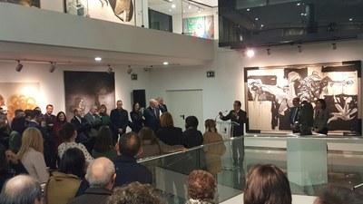 La DPZ inaugura el Centro de Arte y Exposiciones de Ejea, un nuevo museo para seguir dinamizando la cultura en la provincia