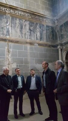 La DPZ invertirá casi 400.000 euros en la restauración de la capilla de la Purificación de la catedral de Tarazona