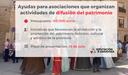 La DPZ lanza sus ayudas para asociaciones que organizan actividades de defensa del patrimonio, dotadas con 150.000 euros