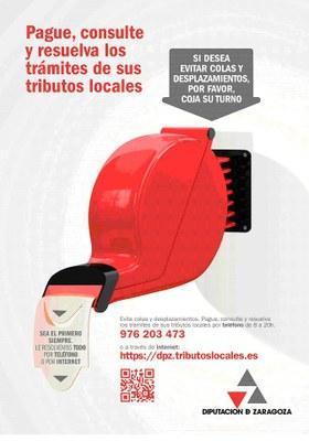 La DPZ lanza una campaña para fomentar los trámites por teléfono o internet en su servicio de Gestión y Atención Tributaria