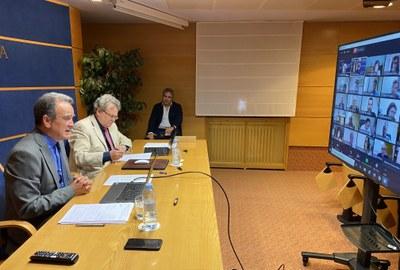 La DPZ lanzará un plan extraordinario de 10 millones de euros para paliar el impacto social y económico del coronavirus en la provincia