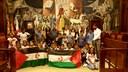 La DPZ recibe a los niños saharauis que han pasado el verano en Aragón gracias al programa Vacaciones en Paz