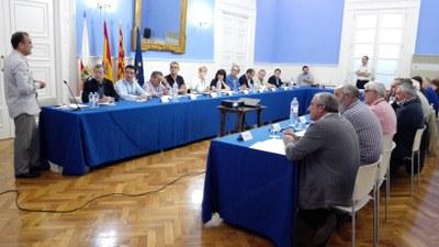 La DPZ somete los servicios de la institución al análisis de los alcaldes