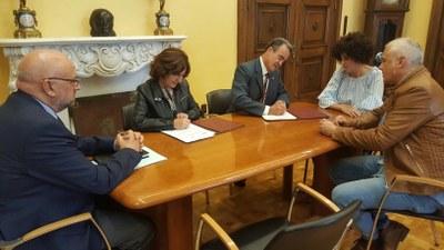 La DPZ y el Gobierno de Aragón firman un convenio para fomentar la participación ciudadana y la transparencia en los municipios
