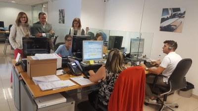 La DPZ y el Instituto Aragonés de Servicios Sociales renuevan el convenio de teleasistencia
