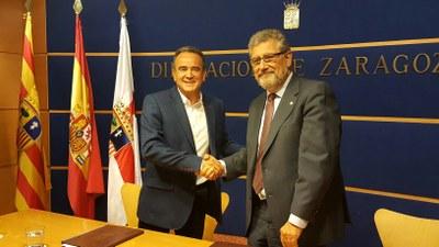 La DPZ y la Universidad de Zaragoza crean la primera Cátedra sobre Despoblación de España