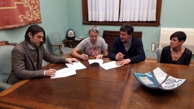 La DPZ y los representantes de los trabajadores firman el acuerdo sobre las nuevas condiciones laborales de la institución