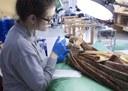 La escuela taller de restauración de la DPZ entrega a la parroquia de Cadrete una escultura restaurada por sus alumnas