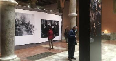 La exposición 'Heraldo.125 años de fotografías' encara su recta final en el palacio de Sástago tras superar las 15.000 visitas
