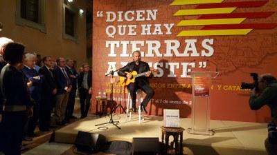 La exposición sobre los vínculos entre Aragón y Cataluña, 'Dicen que hay tierras al Este', cierra sus puertas con 37.330 visitantes