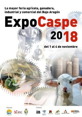La feria Expo Caspe celebra esta semana su XXXVIII edición con casi 200 expositores y actividades para todos los públicos