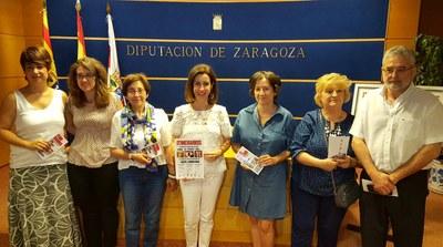 La II edición del proyecto cultural 'Itinerarios' lleva las creaciones de Maribel Lorén a Luna, El Frago y Biel