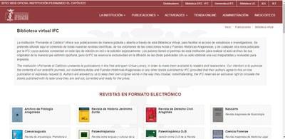 La Institución Fernando el Católico de la Diputación de Zaragoza amplía su biblioteca virtual con 22 nuevos títulos