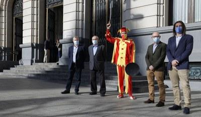 La Institución Fernando el Católico de la Diputación de Zaragoza desvela en un libro los entresijos de la Máscara de Ateca