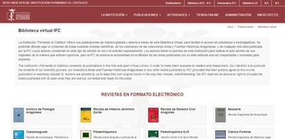 La Institución Fernando el Católico de la DPZ amplía su oferta de publicaciones online con 22 nuevos libros sobre la cultura aragonesa