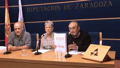 La Institución Fernando el Católico de la DPZ edita el libro 'El dance en Aragón', que recopila numerosos textos inéditos de Mercedes Pueyo