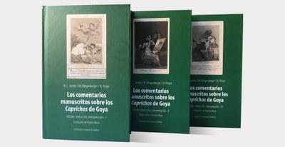 La Institución Fernando el Católico de la DPZ publica el estudio completo sobre los comentarios manuscritos a los 'Caprichos' de Goya